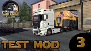 3 Test MOD Renault Magnum Interior I Euro Truck Simulator 2 ! - YouTube