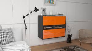sideboard oxnard orange hängend 92x79x35cm