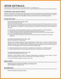 Resume Summary Statement Examples Awesome