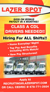 DRIVERS, Lazer Spot, Alpharetta, GA Southernag Carriers Inc Introduction To Jockey Truck Operator Traing Savannah Technical Drivejbhuntcom Straight Driving Jobs At Jb Hunt Cr England Cdl Schools Transportation Services Lipsey Trucking Llc Home Facebook Nrs Survey Finds Solutions Driver Job Shortage Big G Express Otr Company Time For A Change Consider Bay And Entrylevel No Experience Find The Best Local Near You Regional In Ga Resource Hiring Drivers Goggin Warehousing