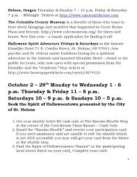 Halloweentown 5 Cast by Spirit Of Halloweentown In Portland At St Helens Oregon