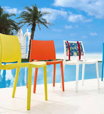 Wayfair Patio Dining Chairs by Strata Furniture Cielo Stacking Patio Dining Chair U0026 Reviews Wayfair