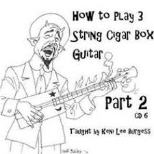 Youtube 3 String Cigar Box Magnetic Pickup