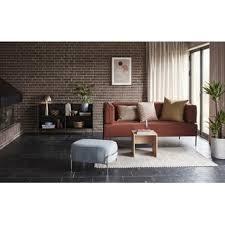 sofa designcouch 2 sitzer otto braun schwarz dezain de