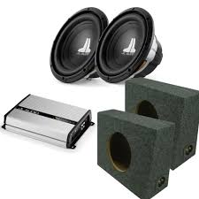 100 Truck Subwoofer Box JL Audio 210w0v34 Subwoofers 2truck Box Enclosures With JX2501