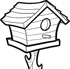 7 Images Of Bird Feeder Coloring Pages