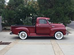100 1955 Chevy Truck Restoration Chevrolet 3100 AllSteel Original Pickup Restored Tri