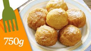 recette pâte à choux classique 750 grammes