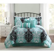 DelbouTree Charcoal Gray Turquoise Bedding Sets Sale – Ease