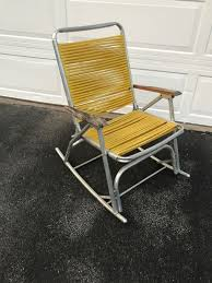 Vintage Aluminum Tube Frame Folding Rocker Rocking Lawn Chair Yellow Lawn Chair Webbing Replacement Nylon Material Repair Kits For Plastic Alinum Folding Chairs Usa High Back Beach Old Glory With White Arms Telescope Outdoor Fniture Parts Making Quality Webbed Pnic Charleston Green I See Your Webbed Lawn Chair And Raise You A Vinyl Tube Vtg Red Blue Child Kid Patio The Home Depot Weave Seats With Paracord 8 Steps Pictures Cane Cheap Garden Recliner Chama Allterrain Swivel