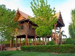 100 Thailand House Designs Picture Thai Style Bush Trees Cities Building Design