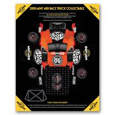 100 Trucks Paper The Mint 400 Truck Collectable The Mint 400