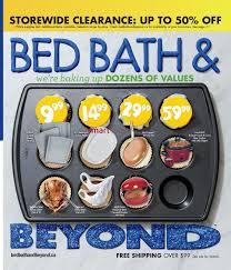 Bed Bath Bey by Bed Bath U0026 Beyond Canada Flyers