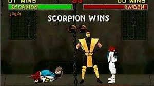Mortal Kombat Arcade Machine Moves by Video Mortal Kombat 2 Scorpion Finishing Moves 0 Mortal Kombat