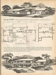The Retro Home Plans by Vintage House Plans Mid Century Homes Retro Dwellings