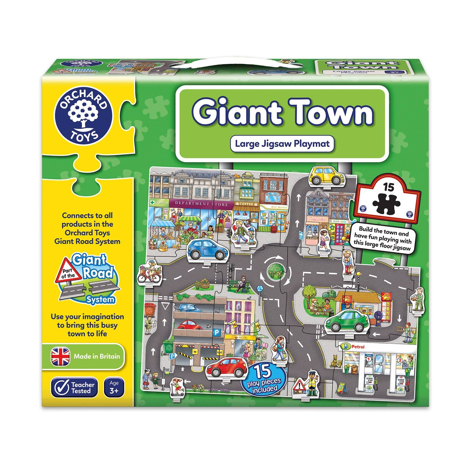 Giant Town Jigsaw - 15 pce - Cars
