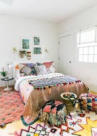 bohemian deko 5 elemente für den look schlafzimmerfarbe