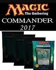 Premade Commander Decks 2017 by Mtg Commander Set Magic The Gathering Ebay