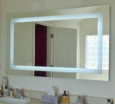 lighted vanity mirrors for bathroom mercial lighted bathroom