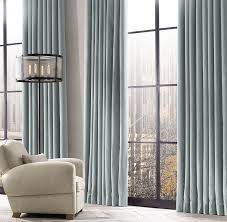 thai silk tonal stripe drapery in pearl restoration hardware