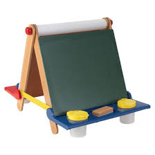 Easel Desk With Stool by Kidkraft Tabletop Easel Natural With Primary Target
