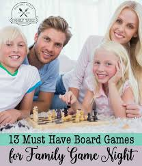 13 Must Have Board Games For Family Game Night