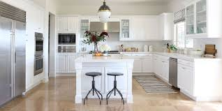 Bright White Cabinetry Bounces Light And Makes For A Modern Kitchen