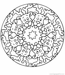 Mandala Coloring Pages For Relaxation