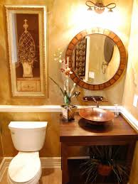 Best Bathroom Pot Plants by Nice Guest Bathroom With Framed Wall Art And Potted Plants