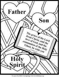 Free Bible Coloring Love