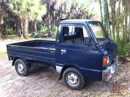 1987 Subaru Sambar Mini Truck 4x4 Kei Japanese Pick Up Truck