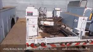 Utility Bodies, Beds, Tool Boxes For Service And Utility Trucks ...