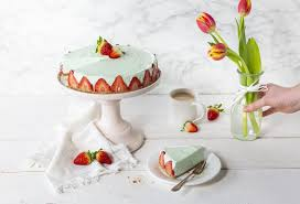 no bake philadelphia waldmeister torte