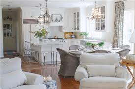 Wicker Furniture Design For Stylish Dining Room Decor Combined With Coastal Living Using White Armchairs