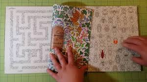 The Secret Garden By Johanna Basford Adult Coloring Book Review Flip Through