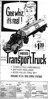 Hess Toy Trucks: The Holiday Season Begins – Chuck The Writer