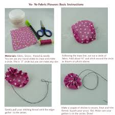 Jinkys Crafts Designs Handmade Fabric Flowers Slipper Clips