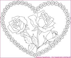 Coloriage Coeur À Imprimer Coloriage De Coeur Imprimer Gratuit