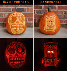 Walking Dead Halloween Stencils by Day Of The Dead Pumpkin Template 100 Images Day Of The Dead