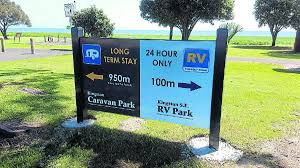New RV Park Signs