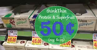These ThinkThin Protein Superfruit Bars Are Delicious Through 2 12 Youll Find Them On Sale At Smiths For 125 Which Is A Great Price