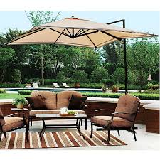 Garden Winds Replacement Canopy Top For Sand Dune Offset Umbrella