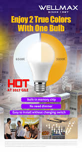 two color in one bulb the way you want with wellmax s segmented