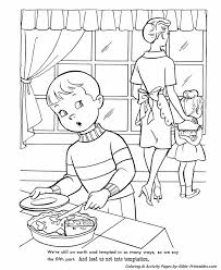 The Lords Prayer Coloring Page 18