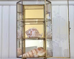 Pulaski Display Cabinet Vitrine by Vintage Curio Cabinet Etsy