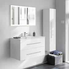 spiegelschrank badezimmer 100cm landhaus badmöbel günstig