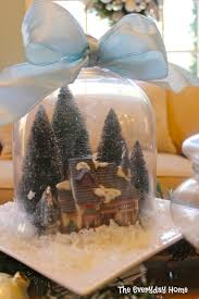 Spode Christmas Tree Village Cookie Jar by Snow Village And A Pillow Giveaway The Everyday Home