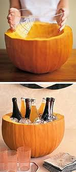Serve Drinks Out Of A Pumpkin