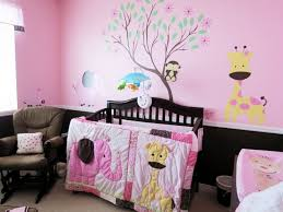 Decor For A Baby Girls Room Decorating Ideas With Girl Disney Nursery Stunning Furniture