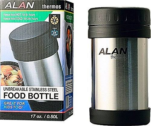 Stainless Steel Food Bottle 17-Ounce